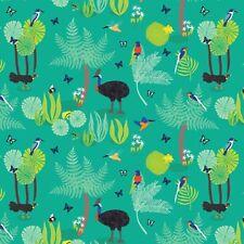 The Daintree Green - Wild Australia - 100% Cotton Quilting Fabric