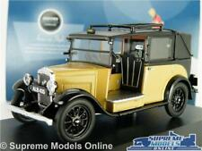 AUSTIN LONDON TAXI MODEL CAR CAB LOW LOADER FAWN 1:43 SCALE OXFORD AT007 CREAM K