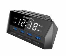 Beare Alarm Clock Charging Station - 4 USB Ports