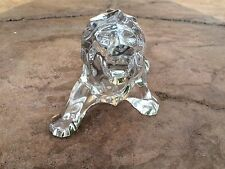 Baccarat Rare Crystal Lion Figurine Made In France Excelent Condition