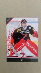 2015-16 Cardset Finland #238 Veini Vehvilainen JYP Jyvaskyla