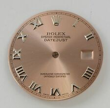 Rolex  Men's Pink Roman Datejust Dial Numeral for 16200,16234
