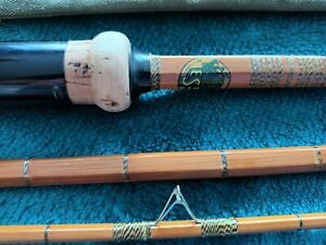 *Rare* Edgar Sealey Octofloat Split Cane Rod 11ft - Immaculate condition