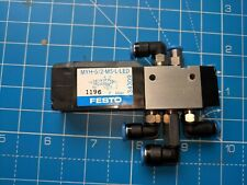 FESTO Solenoid valve MYH-5/2-M5-L-LED 34309 (extra bits included)