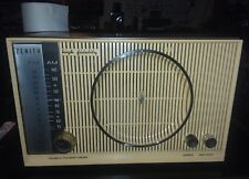 Beautiful Vintage 50's Zenith Model S-50683 High Definition Tube Radio WORKING
