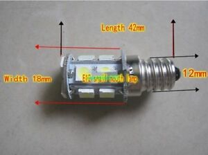 2pcs DC/AC 12V/18V/24V 3W E12 screw bulb LED energy saving lamp Indicator light