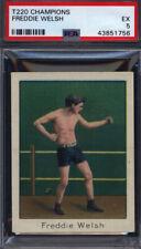 T220 Champions Freddie Welsh Boxing PSA 5 *698298