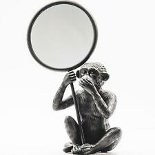 House of Vitamin Monkey Mirror Black