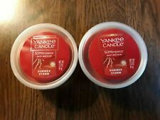 YANKEE CANDLE , EASY MELT CUP,  SUMMER STORM, LOT OF 2