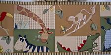 NIP Package Kids Line Jungle Animals Zanzibar DOUBLE Roll Wallpaper Border 30'