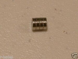 4 magnets to convert 18*650 battery flat tops to button tops 18350 14500 18350