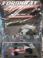 WILLIAMS FW04 1975  JACQUES LAFFITE  FORMULA 1 AUTO C. #136 MIB DIE-CAST 1:43