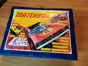 Vintage MATCHBOX Carry Case with 48 Cars/Vehicles