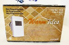 Nonprogrammable Thermostat For Warm Tiles Cable Systems-(Floor Heat)  GT1