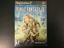 Final Fantasy Xii 12 Black Label Ps2 Sony PlayStation 2 Complete