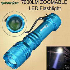 7000LM ZOOMABLE Portable Flashlight CREE Q5 AA/14500 LED Mini Torch 3 Modes Lamp