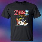 New The Legend Of Zelda Phantom Hourglass Men's Black T-Shirt Size S-3XL