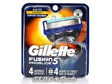 Gillette Fusion 5 Proglide Razor Refill 4 Cartridges, Brand New, #020