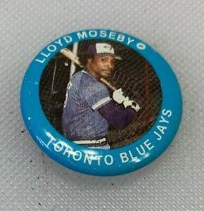 1984 Fun Foods Baseball Button Pin # 132 Lloyd Moseby Toronto Blue Jays