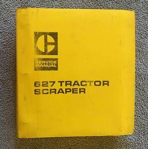 ORIGINAL CATERPILLAR 627 TRACTOR SCRAPER SERVICE MANUAL IN EXCELLENT CONDITION