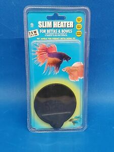 New Hydor Slim Heater for Bettas and Bowls 7.5W up to 5 gallons