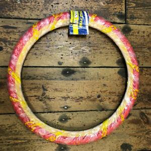 Kenda Red / Amber Wall BMX Tyre / Bicycle Tyre. 20 x 1.75 (ETRTO 47-406) *NOS