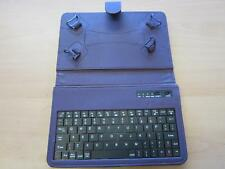 "Purple Bluetooth Keyboard Carry Case & Stand for BlueBerry PlayBook 7"" Tablet PC"