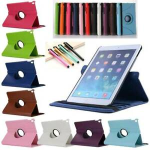 360 Rotating Flip Stand Case Cover For Samsung Galaxy Tab A S4 S5e 8 10.5 Tablet