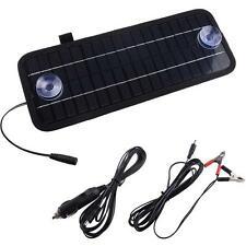 5W 12V Solar Cell Panel For Car Battery Garden Lights Charger Backpack Power 1pc