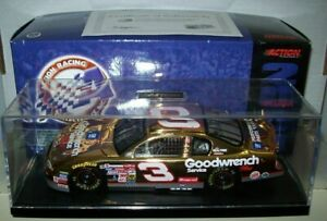 DALE EARNHARDT SR #3 GOODWRENCH 2000 1/24 ACTION 24K GOLD CAR 2000 MADE