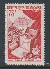 Francia - 1954, 75 F flores y perfumes Sello-L/M-SG 1170