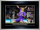 "NEW"" CRISTIANO RONALDO REAL MADRID 2017 CHAMPIONS LEAGUE COLLAGE SIGNED & FRAMED"