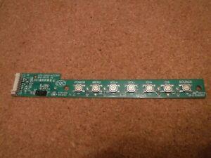 """Polaroid Series 1 P43FN0038K 43"""" HD LED TV - Button Board - 4713-5500C1-A2123K01"""