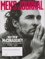 Men's Journal October 2018 Matthew McConaughey  (Magazine: Men's)