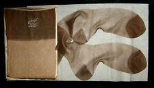 Lot of 3 Sheer Vintage Hanes 415 Flat Knit RHT Stockings Sz 10 1/2 34 1/2 Long