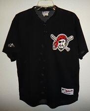 Euc Mens L Majestic Pittsburgh Pirates Mlb Baseball Jersey Made In The Usa Black