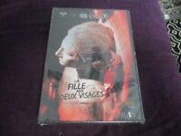 """DVD NEUF """"LA FILLE AUX 2 DEUX VISAGES"""" film d'horreur de Romain SERIR"""