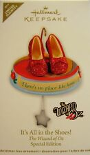 Hallmark Wizard Oz Its All in the Shoes Ornament Ltd Qty 2011