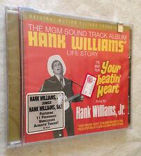 CD THE MG FILM YOURCHETIN' HEART ANK WILLIAMS' SOUNDTRACK COLONNA SONORA
