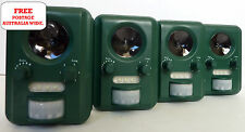 4 x Possum deterrent Ultrasonic Silent with Strobe