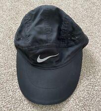 Black Nike Dri-Fit Running Cap Size S