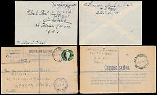 POLAND WW2 1946 REGISTERED STATIONERY + OAS ENVELOPE FPO 127 ITALY
