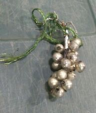 Antique Small Mercury Glass Ornaments Distressed Christmas Package Decoration
