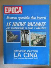 EPOCA n°868 1967  Il male di Primo Carnera Inserto vacanze in Puglia  [G803]