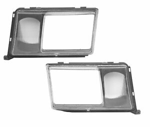 🔥Uro Set 2 Front Left and Right Headlight Door with Lens for Fog Lamp For MB🔥