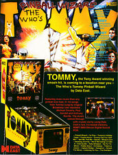Data East the whos tommy pinball sound rom chip set