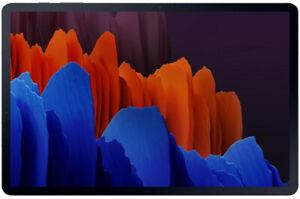 Samsung Galaxy Tab S7+ 256GB, Wi-Fi + 5G (Ohne Simlock), 12,4 Zoll - Mystic Blac