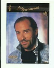 Lee Greenwood-hand-signed 1992 Collect-A-Card