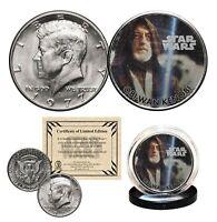 OBI-WAN KENOBI - STAR WARS Officially Licensed 1977 JFK Half Dollar U.S. Coin