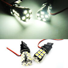 2x High Power 24 SMD LED 3157 3156 For LAND ROVER Front Turn Signal Light White